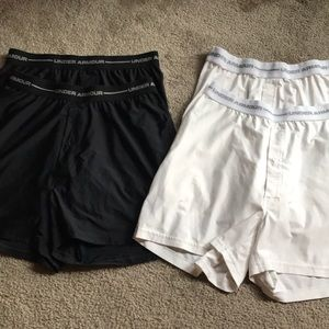 Under Armour Boxers - 4 pairs